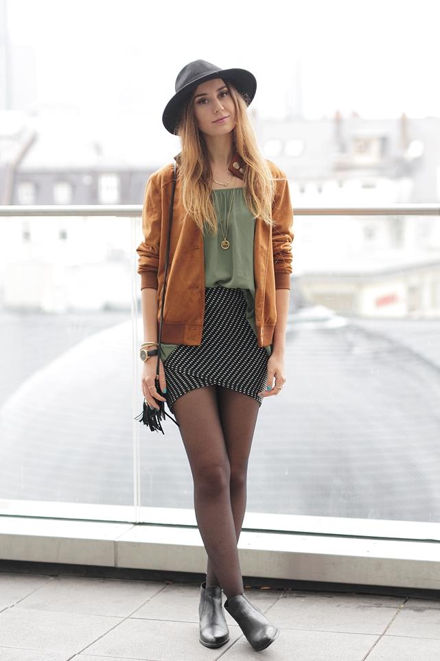 Bomberjacke Outfit Hypnotized Blog 1