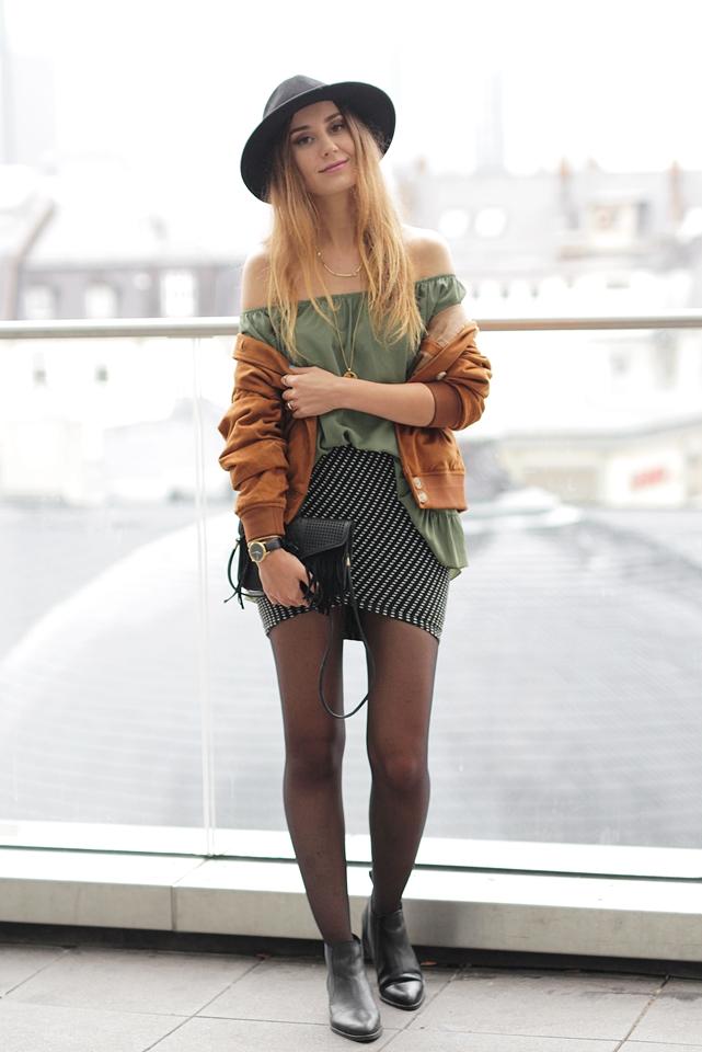 Bomberjacke Outfit Hypnotized Blog 3