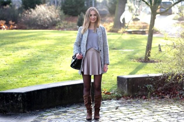 Auf dem deutschen Modeblog aus Frankfurt gib't ein Outfit für die Schule von der german fashion bloggerin Helena.