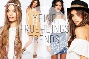 Auf ihrem Modeblog zeigt Bloggerin Laura die wichtigten Modetrends für den Frühling.
