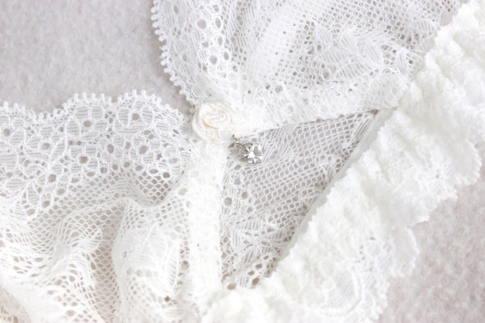 Modetrend Spitzenunterwäsche unter weißer Kleidung auf Modeblog Deutschland 2020.