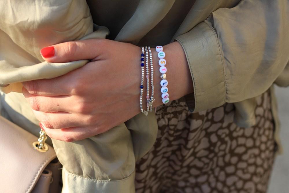 Juwelenkind Sterling Silber 925 Edelsteine Armbänder für Sommer 2020