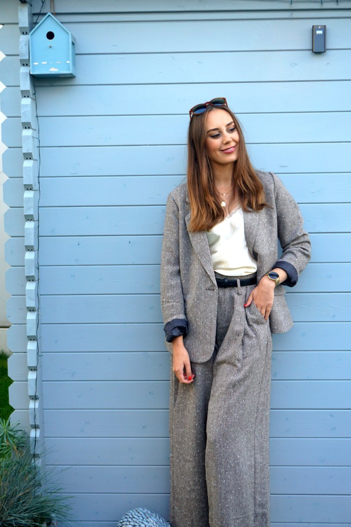 Herbst Outfit 2020 Business Look Molly Bracken in Mode 2021