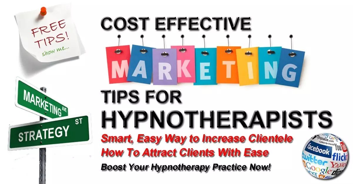 Free Hypnotherapy Marketing Tips For Hypnotherapists