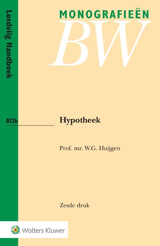 Monografieen BW - Hypotheek