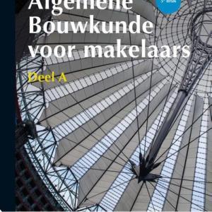 Algemene Bouwkunde voor Makelaars - Paperback (9789006432800)