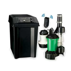 Hydromatic FG-3100RC Premium Smart Battery Back-up Sump Pump System 46 GPM