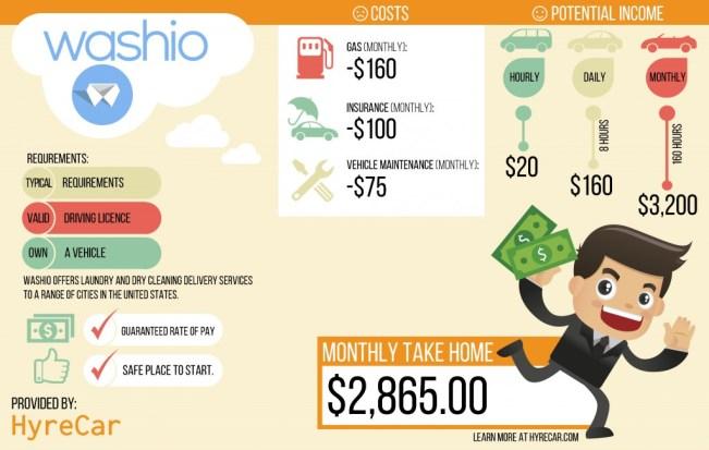 washio income