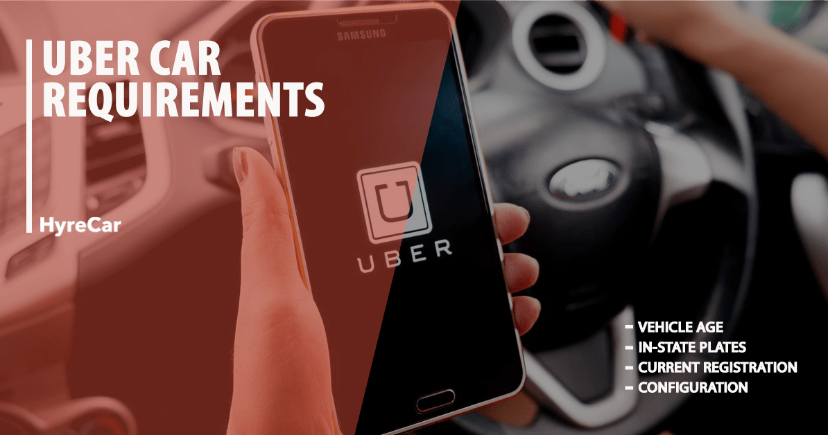 Uber/Lyft Car and Driver Requirements