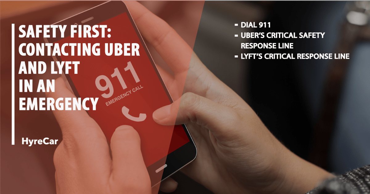 Safety First: Contacting Uber and Lyft in an Emergency