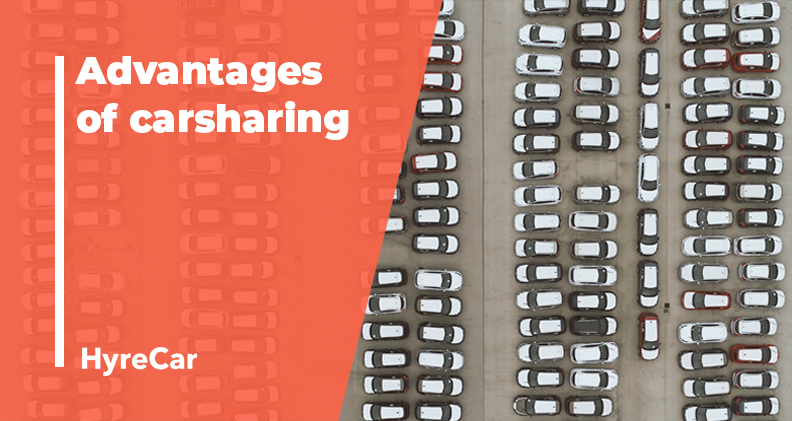 Advantages of carsharing, passive income, mobility