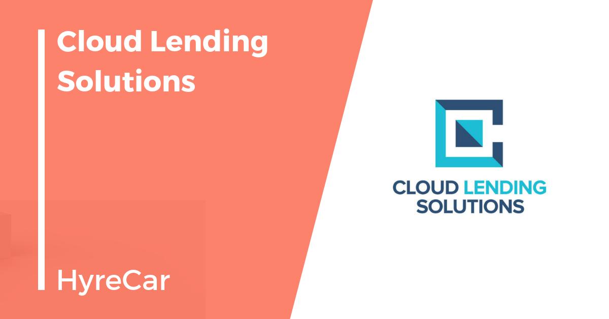 lending, cloud lending, auto finance