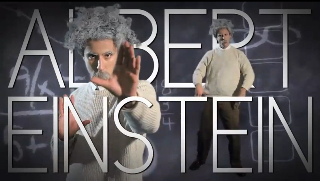 Epic Rap Battles of History: Einstein vs. Stephen Hawking