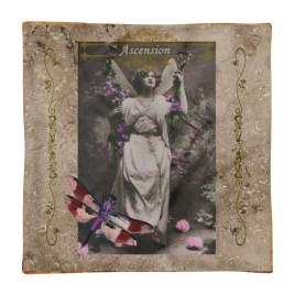 Ascension Vintage Fairy Pillow Square Pillow Case only