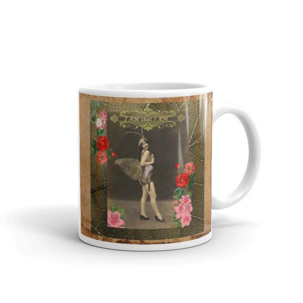 """I AM that I AM"" Vintage Fairy Mug"