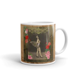 """I AM that I AM"" Vintage Fairy Mug"