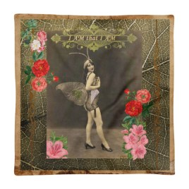 """I AM that I AM"" Vintage Fairy Square Pillow Case only"