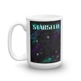 Starseed Mug digital art by Chris DiSano