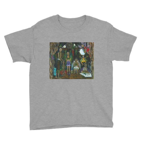 See the Little People…An Enchanting Adventure Youth Short Sleeve T-Shirt