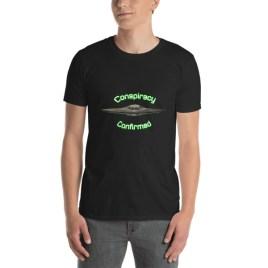 Conspiracy Confirmed UFO Short-Sleeve Unisex T-Shirt