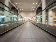 In transit. ICN-HKG