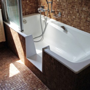 transformer une baignoire en douche