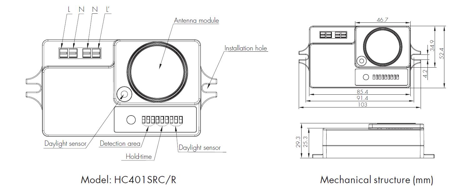 [HC401SRC/R with HRC-03]