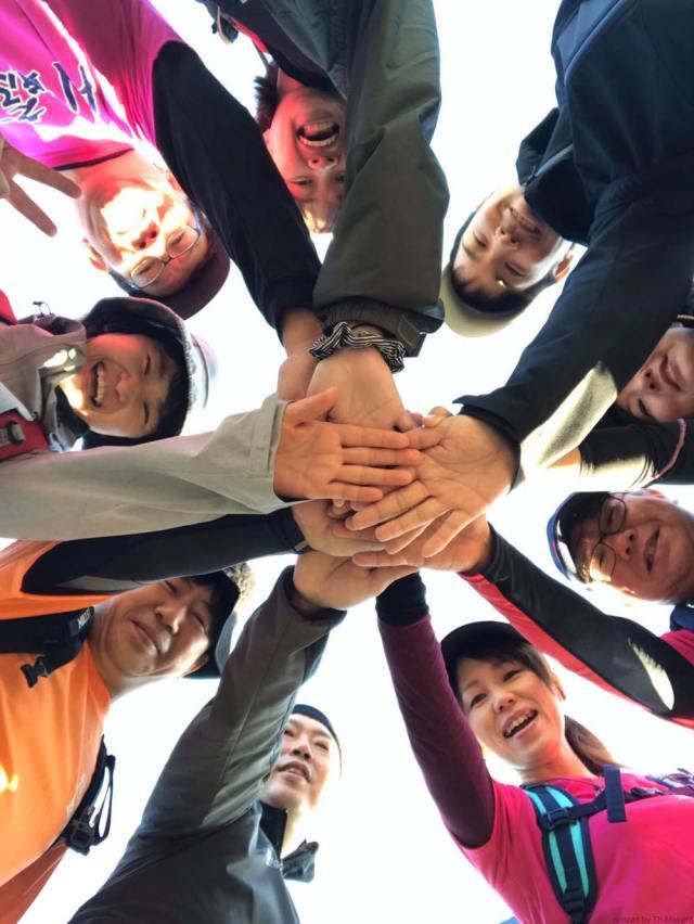 Cチーム「愛媛チャリティ100km歩くぞなもし」100kmウォーキングに参加しました