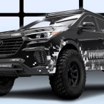 "Hyundai ra mắt bản SantaFe độ ""quái thú"" ở SEMA"