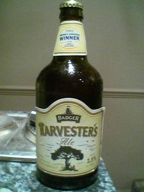 Badger Harvesters Alebottle