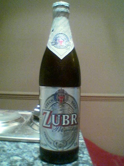 Zubr Premium bottle