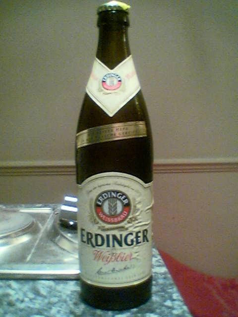 Erdinger Weisbier bottle