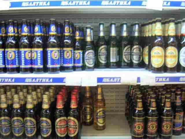 Shop Shelf in Saint Petersburg