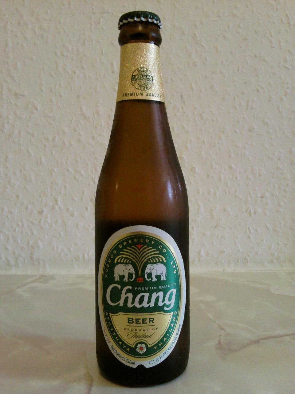 Chang Beer bottle