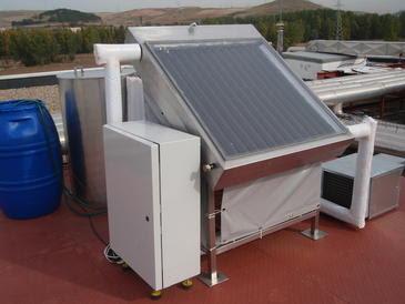aire acondicionado solar