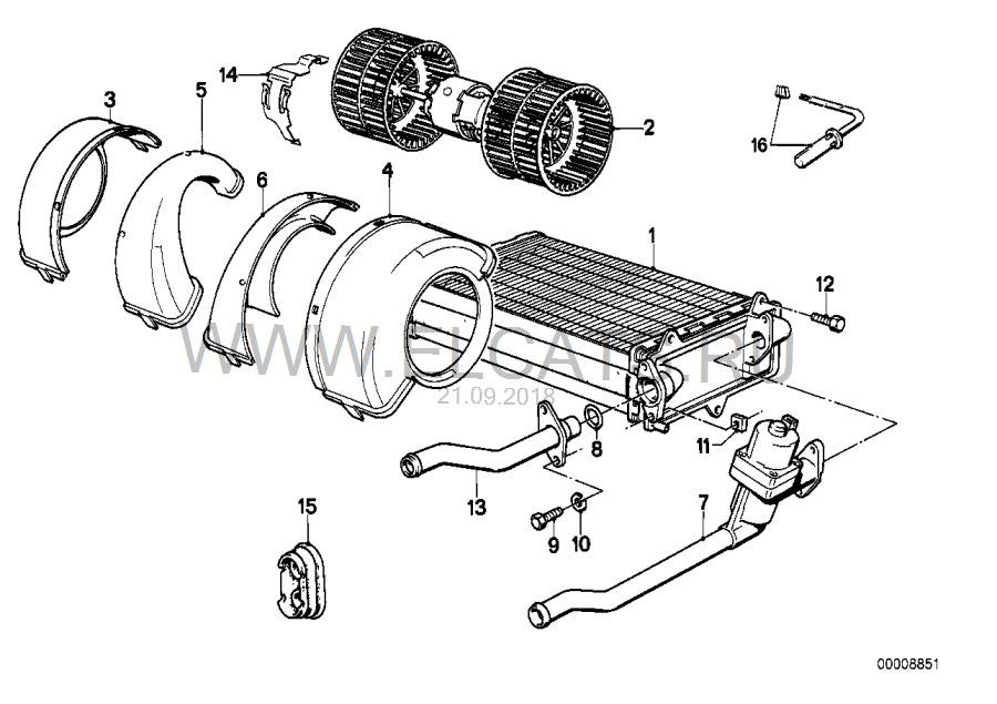 Восстановление Печки 2 — Радиатор печки и Электромагнитный