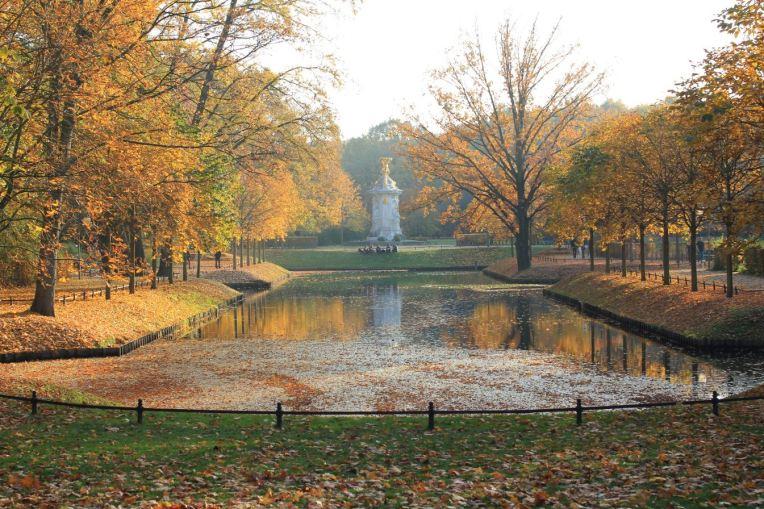 automne à tiergarten