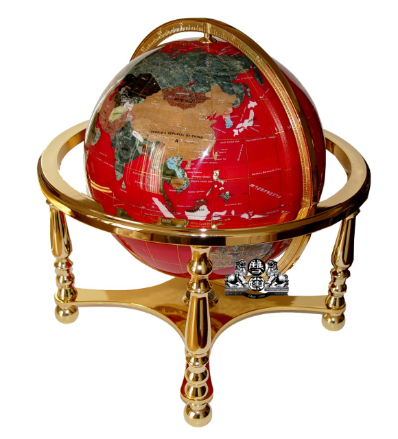 330 Mm Or 13 Inches Diameter Gold 4 Leg Stand Table Top