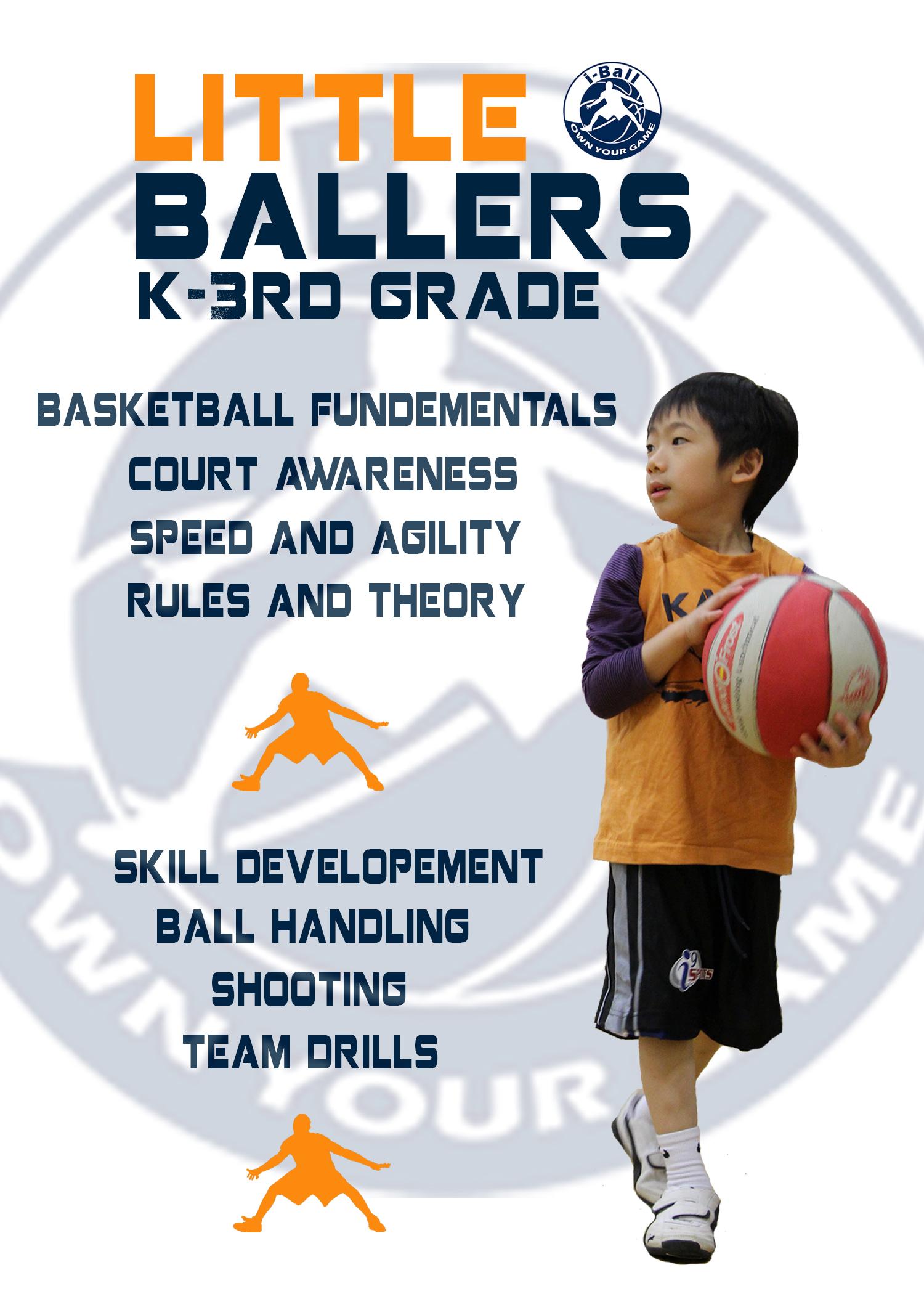 Little Ballers Basketball Program for Kids - Little