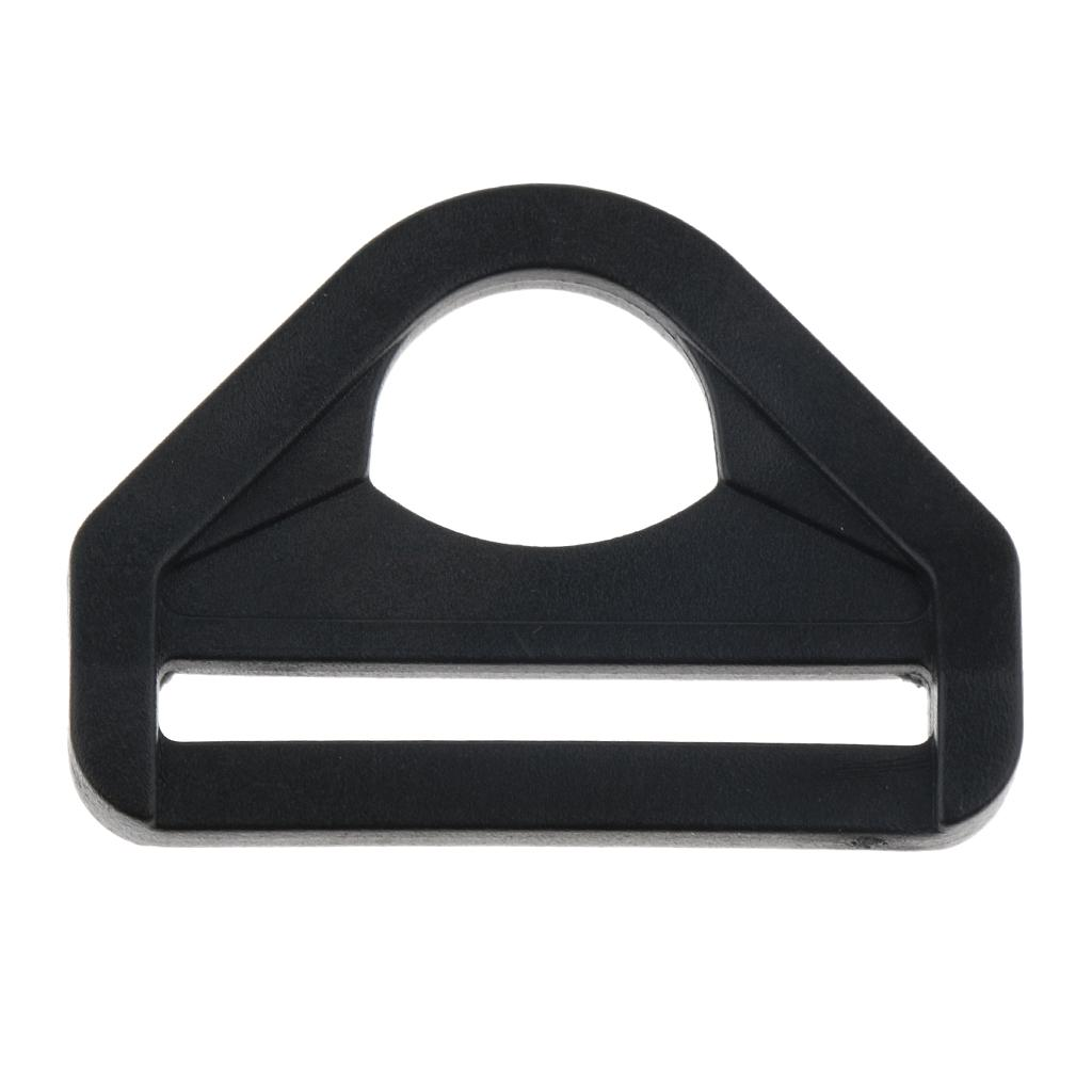 20pcs Plastic Sliders Backpack Fastensers Adjusters Straps