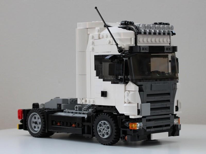 Lego Scania R 4×2 Topline MOC