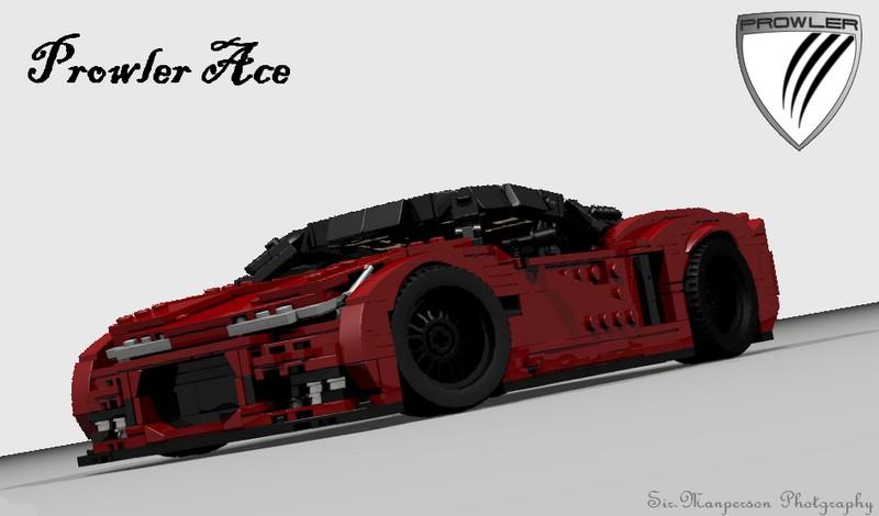 Lego Prowler Ace sport car MOC