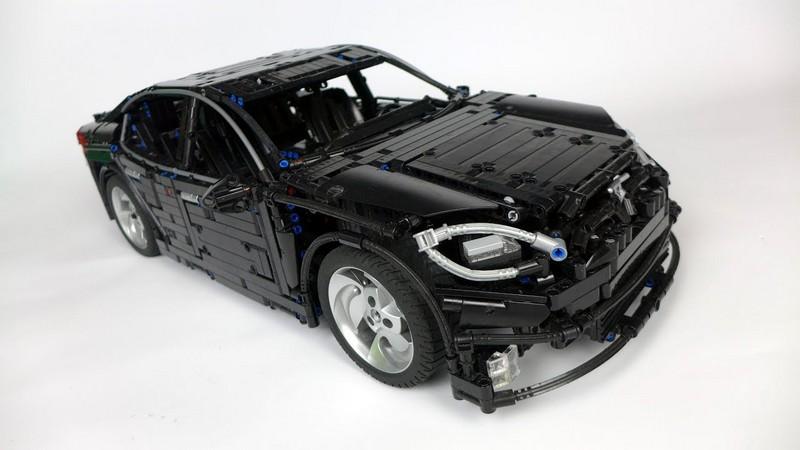 LEGO Technic Tesla Model S 2016 MOC