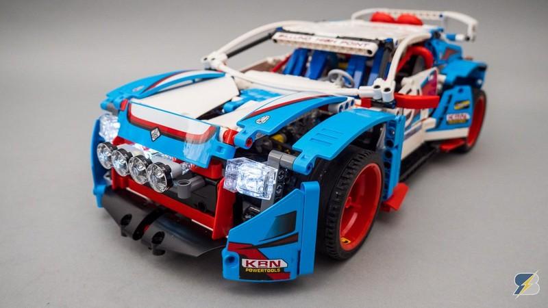Lego Technic 42077 Rally Car 2WD RC