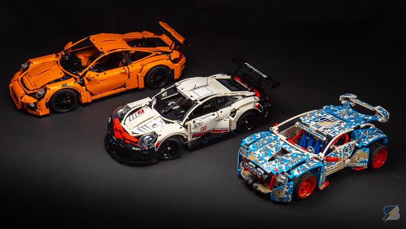 LEGO Technic 42096 Porsche 911 RSR — Дешевый 42056 Porsche или заряженный 42077 Rally Car?