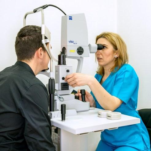 interventie laser YAG