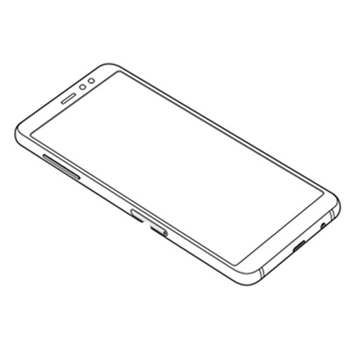 Samsung Galaxy A8 (2018) manual confirms device's layout