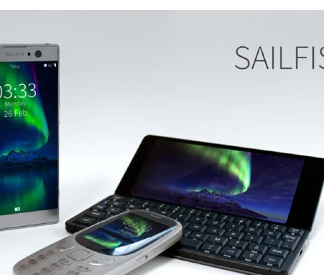 Jolla Made A Couple Of Announcements During Mobile World Congress Mwc 2018 All Concerning Its Sailfish Operating System First Off The Finnish Company