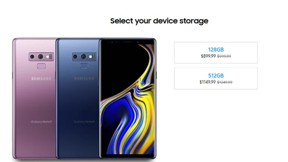 Samsung takes $100 off the Verizon Galaxy Note 9. throws in a free Duo Charger and case - PhoneArena