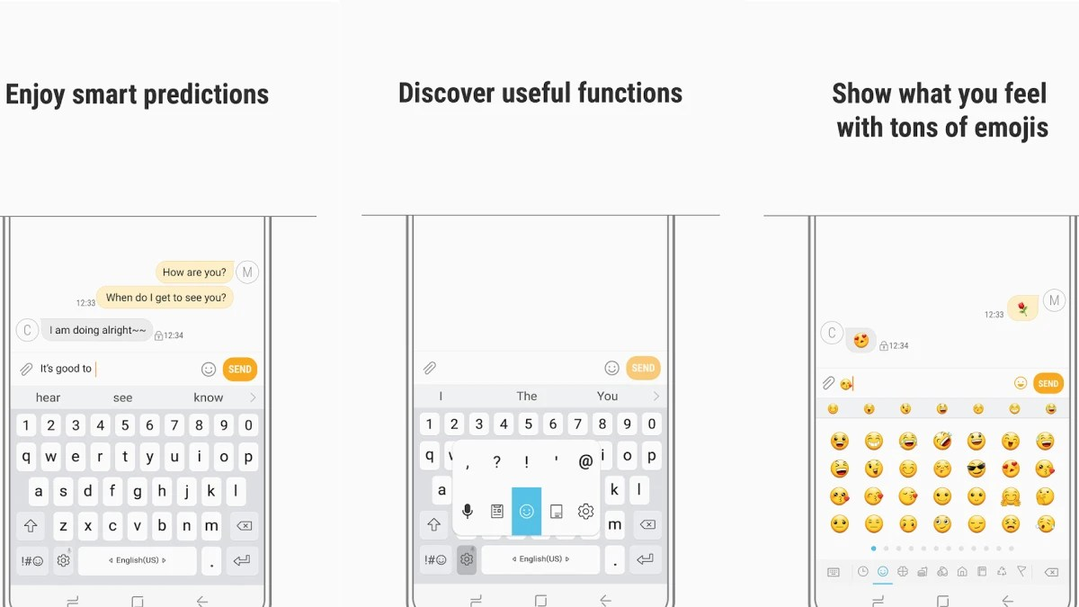 Samsung's keyboard app for Android devices is getting a